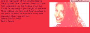 Selena Quintanilla Profile Facebook Covers