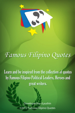 Famous Filipino Quotes