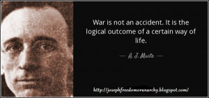 War Is Not An Accident: A Profile of Radical Pacifist A.J. Muste