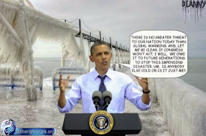 """Even though President Obama continues to lie about """"climate change ..."""