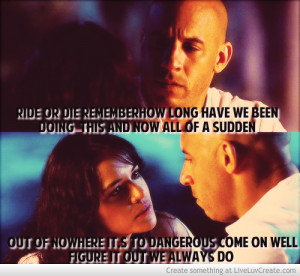 Ride Or Die Remember Dom And Letty