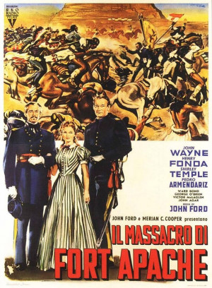 Fort Apache, 1948: Movie Posters, Forts Apache, Picture-Black Posters ...