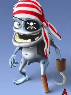 Crazy Frog Pirate