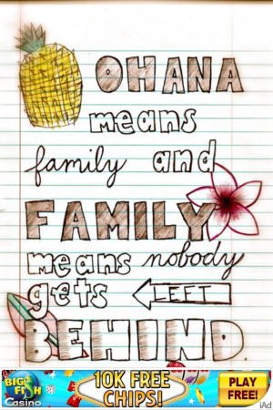 love this Lilo and Stitch quote