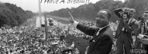 Have A Dream - Martin Luther King Jr. facebook cover
