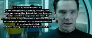 Star Trek Into Darkness Quote-4 | Movie & Comics Quotes