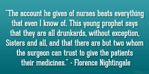 nightingale quote gifts florence nightingale quote magnets nursing ...