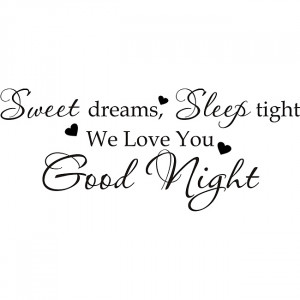 Good Night Sweet Dreams Love You