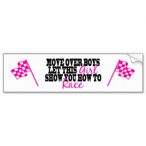 MOVE OVER BOYS GIRLS FISHING BUMPER STICKERS