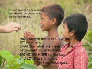 Helping Others Quotes - It's not enough to have lived. We should be ...