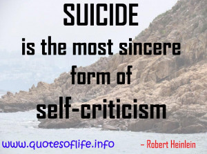 Suicide Quotes Funny