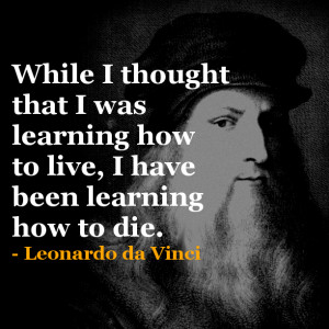 Leonardo Da Vinci Quotes Love Mixes of leonardo da vinci,
