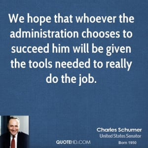 Charles Schumer Quotes