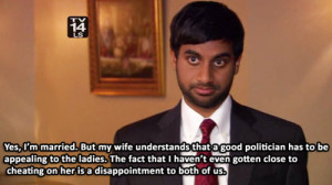 funny tv show parks and recreation tommy haverford aziz ansari comedy