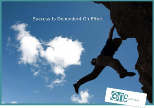 success is dependent on effort effort success meetville quotes