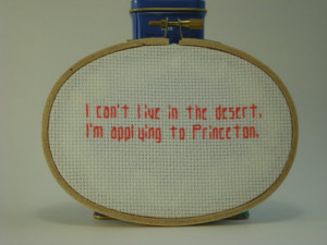 Supernatural Quote Cross Stitch Kevin