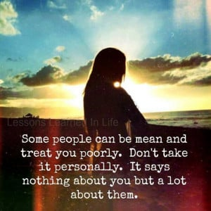 ... hurt too. Not dealing with the hurt can make people be ugly n mean