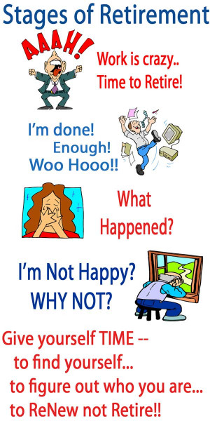 retirement funny sayings that retirement quote scares me you got to ...