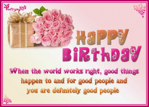 Birthday Cake Picture Birthday Greetings Quotes