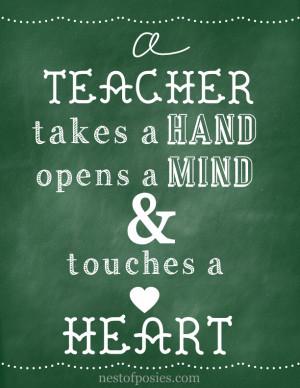 printable teacher quotes