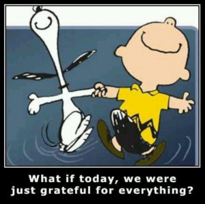 Love Snoopy and Charlie Brown...and this quote.