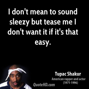 Tupac Shakur About Trust