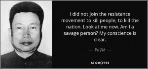 Pol Pot Quotes