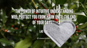 ... will protect you from harm until the end of your days