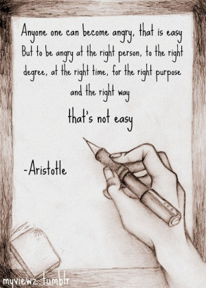 Aristotle, quotes, sayings, angry, wisdom, brainy