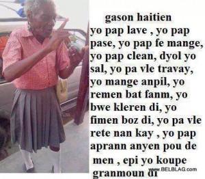 ... | Haitian Creole Jokes Blag Toto PHOTO Komik | Funny Haiti Photos