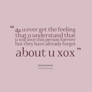 Quotes Picture: do u ever get the feeling that u understand that u ...