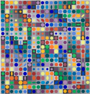 Victor Vasarely Folklor Planetarny picture