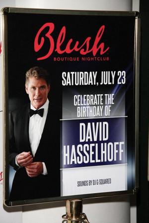 David Hasselhoff Birthday