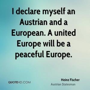 Heinz Fischer Quotes
