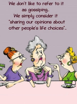 funny quote about gossiping