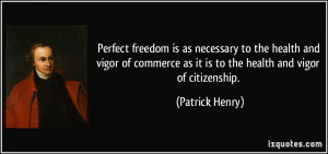 Patrick Henry Quotes On Government