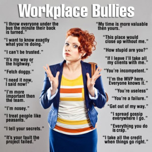 How to deal with a bully in the workplace. Best way to counter-act a ...