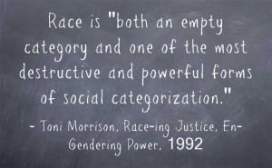Toni Morrison Quote on Race