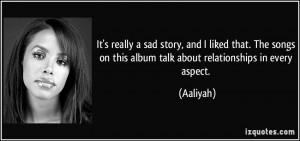 Sad Stories Quotes