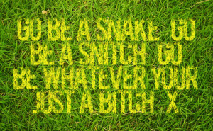snake in the grass quotes