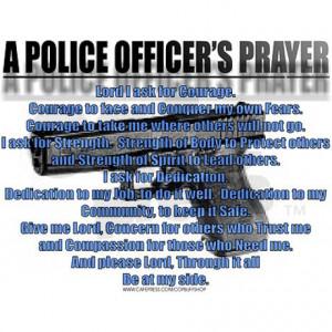 Police Officer Prayer Credited