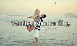 tagged as: summer. fling. romance.