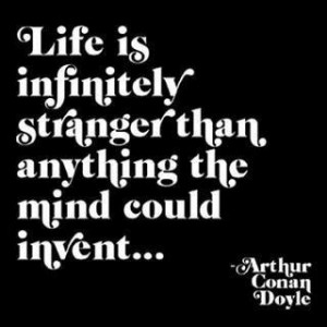 Arthur Conan Doyle quote