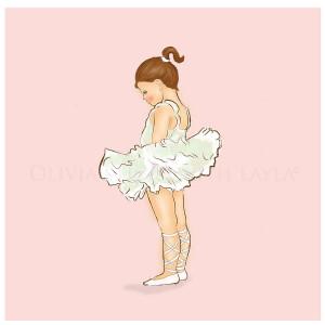 Little Ballerina Card ' little ballerina