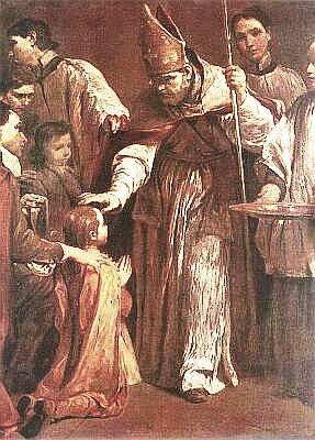 Confirmation, by Giuseppe Maria Crespi, 1712