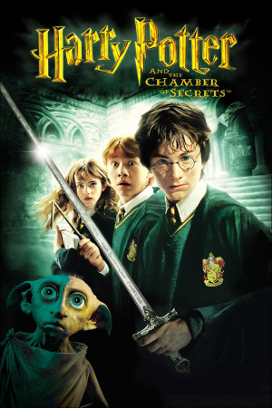 Harry Potter and the Chamber of Secrets (Official Movie Poster)