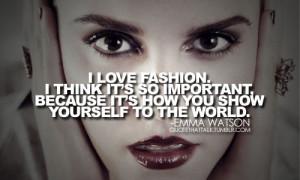 Emma Watson: Feminist Role Model and Fashion Icon