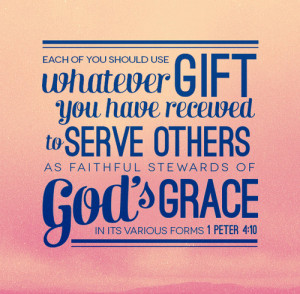 live in peace and unity, it pleases God. When we love and serve others ...