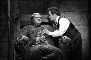 Image form the Broadway musical production of Young Frankenstein :