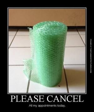 When i see Bubble Wrap